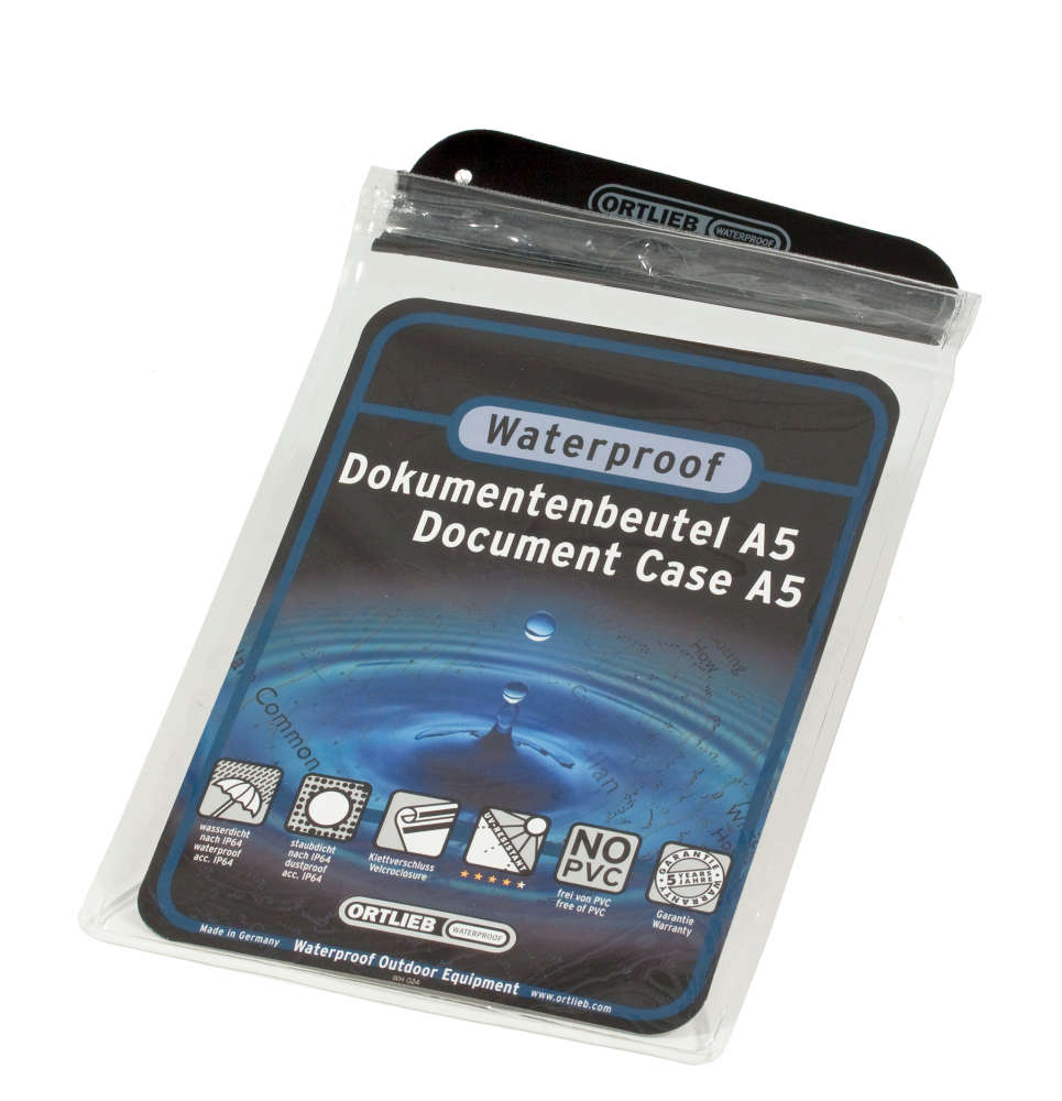 ORTLIEB Document-Bag - transparent