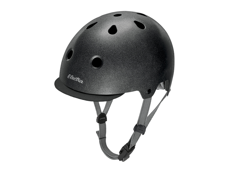 Electra Helmet Lifestyle Lux Graphite Reflective Medium CE